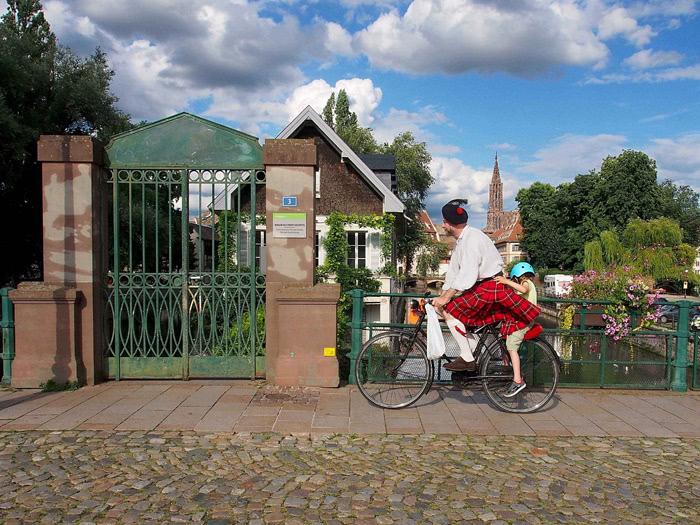 Photographie de Michel Friz - Strasbourg Grande Île 1