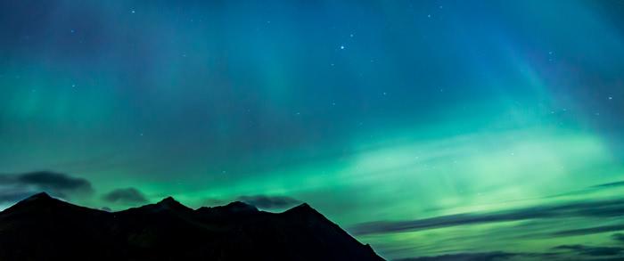 Ma première aurore boréale, fin septembre 2017 en Islande.